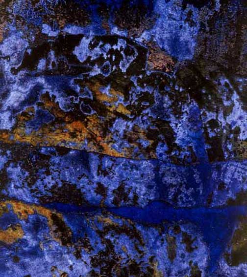 martin hautz: the lapis with its flecks of gold